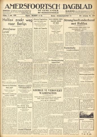 Amersfoortsch Dagblad / De Eemlander 1939-06-09