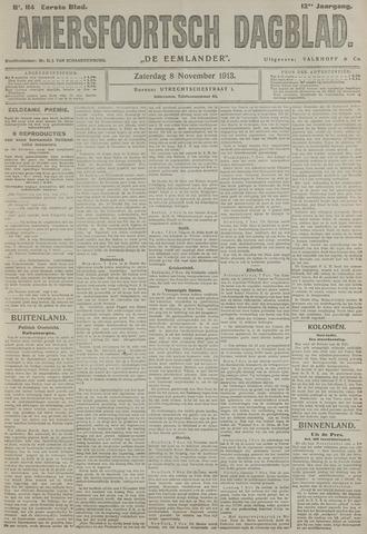 Amersfoortsch Dagblad / De Eemlander 1913-11-08