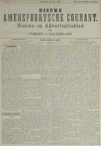 Nieuwe Amersfoortsche Courant 1893-05-24