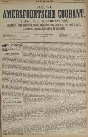 Nieuwe Amersfoortsche Courant 1884-06-21