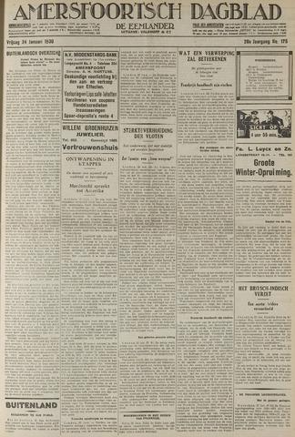 Amersfoortsch Dagblad / De Eemlander 1930-01-24