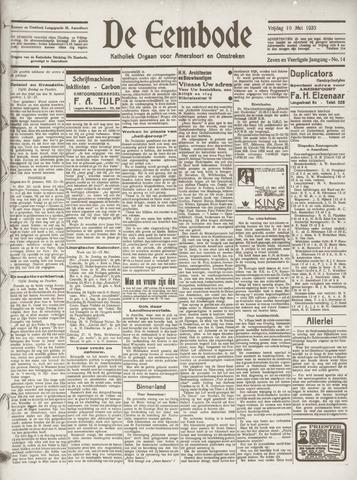 De Eembode 1933-05-19