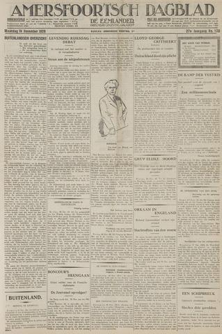 Amersfoortsch Dagblad / De Eemlander 1928-11-19