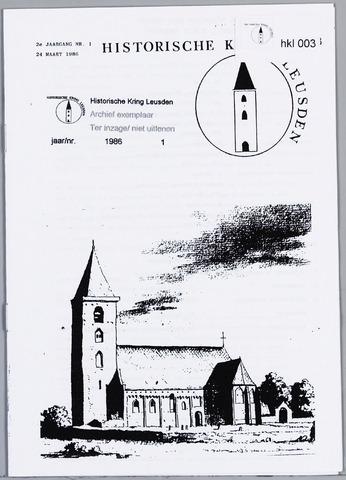 Historische Kring Leusden 1986