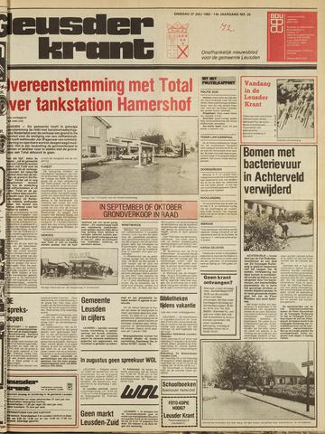 Leusder Krant 1982-07-27