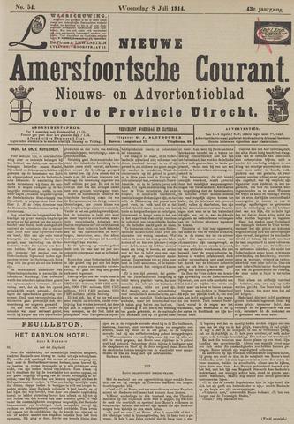 Nieuwe Amersfoortsche Courant 1914-07-08