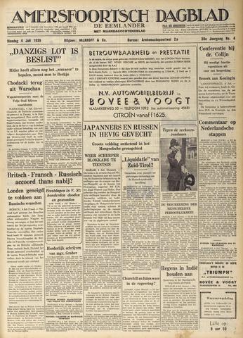 Amersfoortsch Dagblad / De Eemlander 1939-07-04
