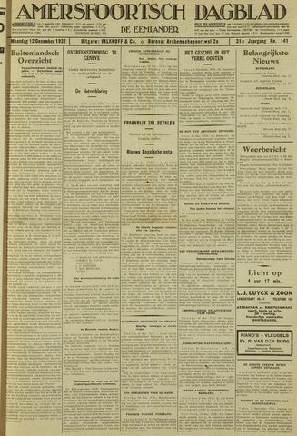 Amersfoortsch Dagblad / De Eemlander 1932-12-12