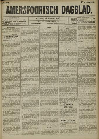 Amersfoortsch Dagblad 1907-01-14