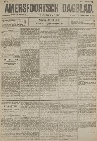 Amersfoortsch Dagblad / De Eemlander 1917-07-09