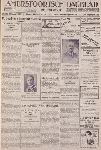 Amersfoortsch Dagblad / De Eemlander 1935-02-23