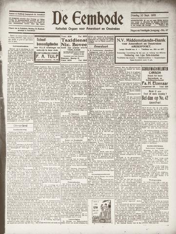 De Eembode 1935-09-10
