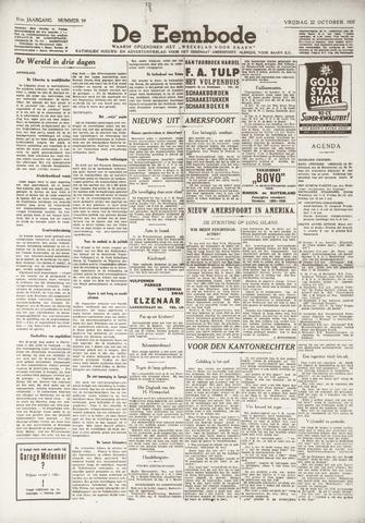 De Eembode 1937-10-22