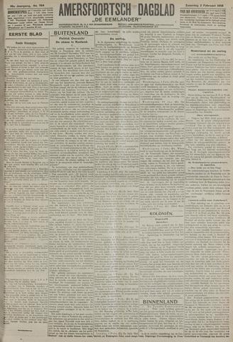 Amersfoortsch Dagblad / De Eemlander 1918-02-02