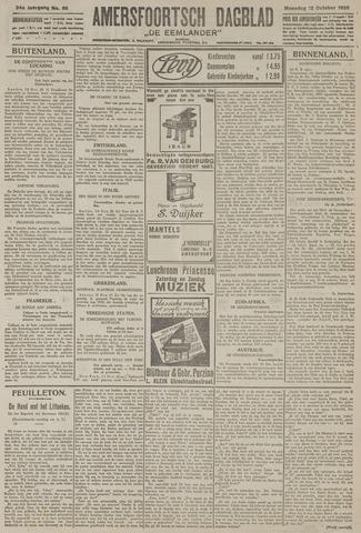 Amersfoortsch Dagblad / De Eemlander 1925-10-12