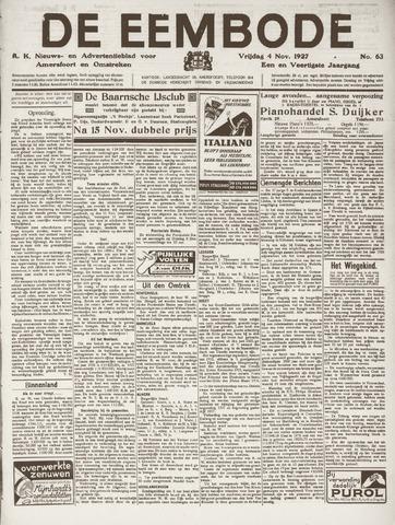 De Eembode 1927-11-04