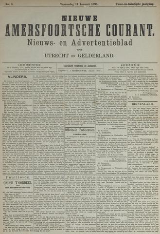 Nieuwe Amersfoortsche Courant 1893-01-11