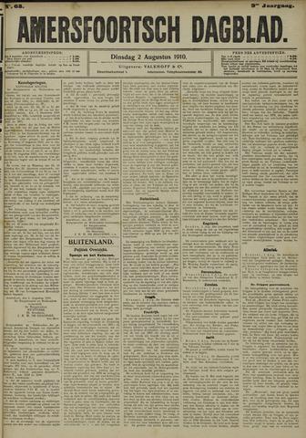 Amersfoortsch Dagblad 1910-08-02