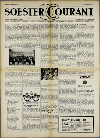 Soester Courant 1955-02-15