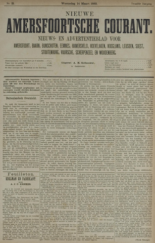 Nieuwe Amersfoortsche Courant 1883-03-14
