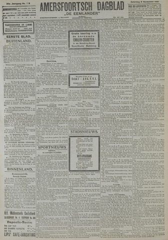 Amersfoortsch Dagblad / De Eemlander 1921-11-05
