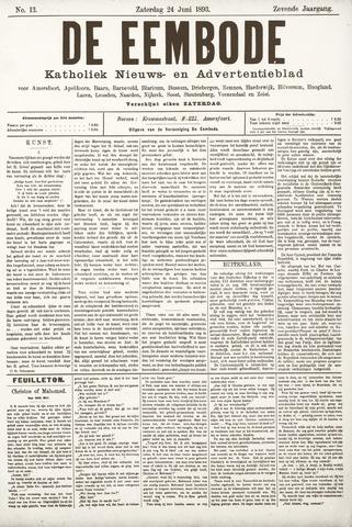 De Eembode 1893-06-24