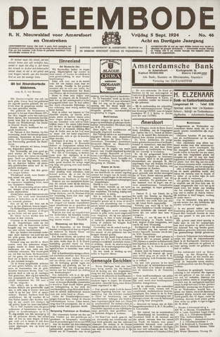 De Eembode 1924-09-05