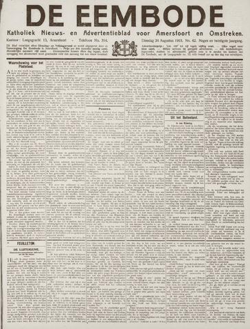 De Eembode 1915-08-24