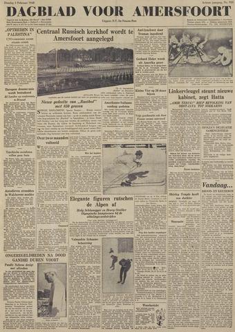 Dagblad voor Amersfoort 1948-02-03
