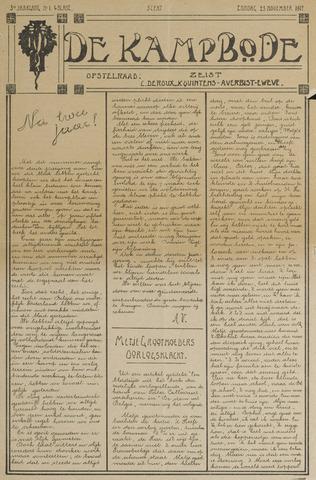 De Kampbode 1917-11-25