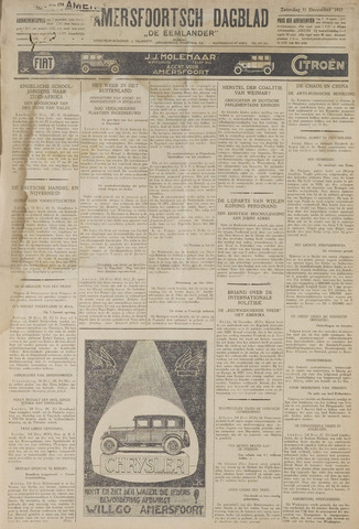 Amersfoortsch Dagblad / De Eemlander 1927-12-31