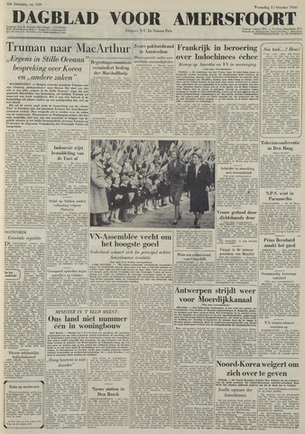 Dagblad voor Amersfoort 1950-10-11