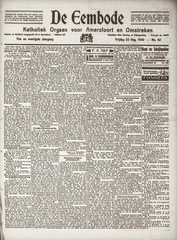 De Eembode 1930-08-22