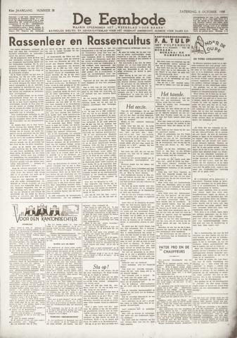 De Eembode 1938-10-08