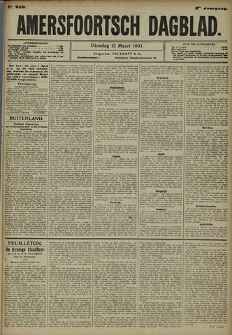 Amersfoortsch Dagblad 1907-03-12
