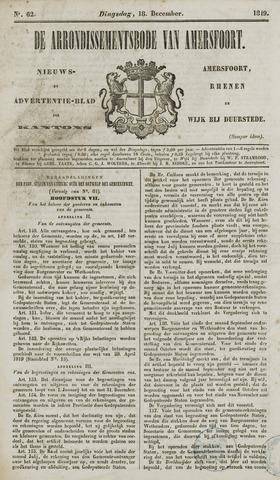 Arrondissementsbode van Amersfoort 1849-12-18