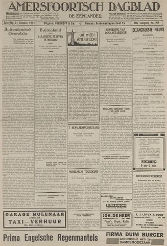 Amersfoortsch Dagblad / De Eemlander 1931-10-31