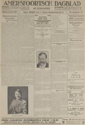 Amersfoortsch Dagblad / De Eemlander 1934-01-30
