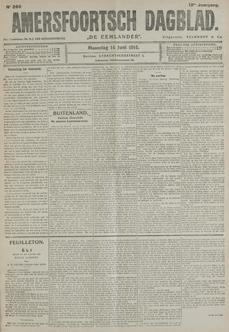 Amersfoortsch Dagblad / De Eemlander 1915-06-14