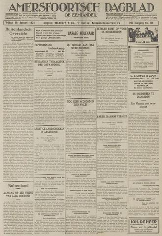 Amersfoortsch Dagblad / De Eemlander 1931-01-16
