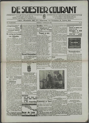 Soester Courant 1941-02-07