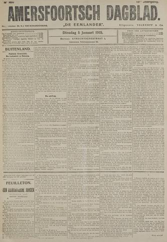 Amersfoortsch Dagblad / De Eemlander 1915-01-05