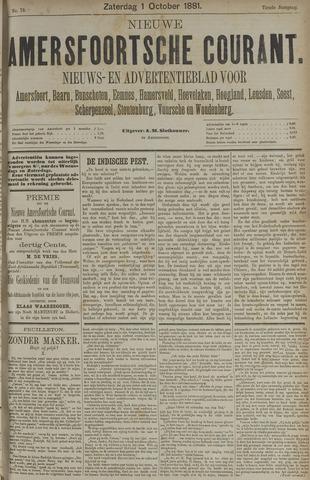 Nieuwe Amersfoortsche Courant 1881-10-01