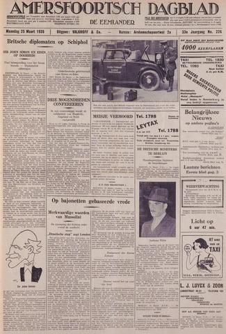 Amersfoortsch Dagblad / De Eemlander 1935-03-25
