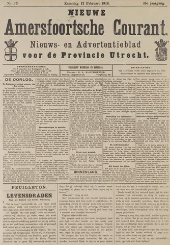 Nieuwe Amersfoortsche Courant 1916-02-12