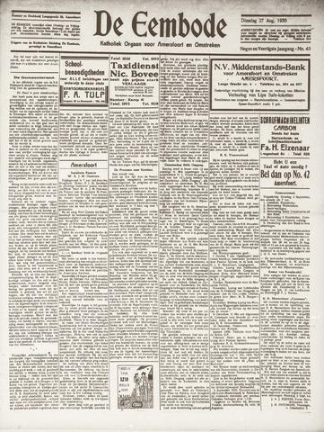 De Eembode 1935-08-27