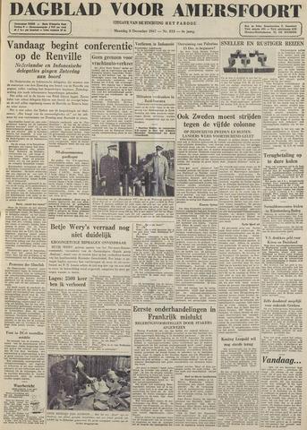Dagblad voor Amersfoort 1947-12-08