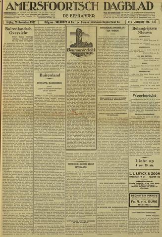 Amersfoortsch Dagblad / De Eemlander 1932-11-25