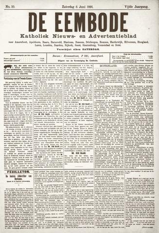 De Eembode 1891-06-06