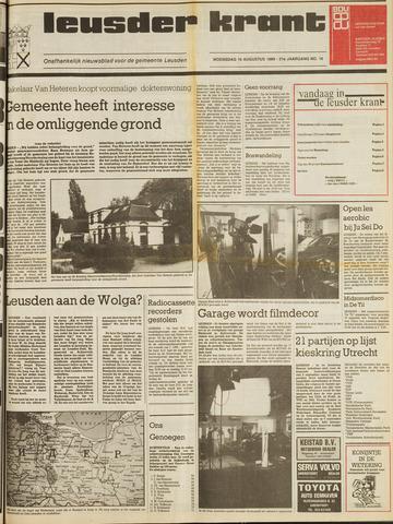 Leusder Krant 1989-08-16